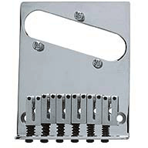 Fender® American Series Telecaster® Bridge Assembly - Chrome