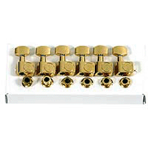 Fender® Schaller American Series Guitar Tuning Machines - Gold