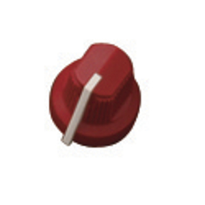 Fender® Pointer Amp Knob 6 Pack - Red