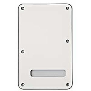 Fender® Stratocaster® 3-Ply Back Plate - White