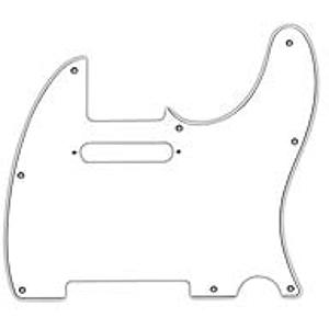 Fender® Standard Telecaster® Pickguard - White