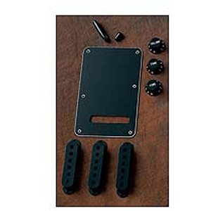 Fender Stratocaster Accessory Kit - Black