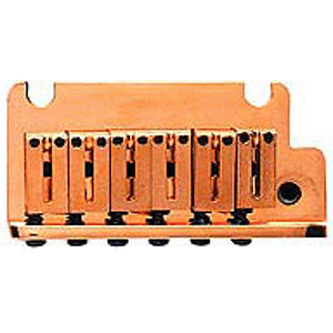 Fender® American Series Stratocaster® Bridge / Tremolo Assembly - Gold