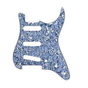 Fender® Standard Stratocaster® Pickguard - Black Pearl