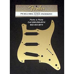 Fender® '57 Stratocaster® Pickguard - Gold