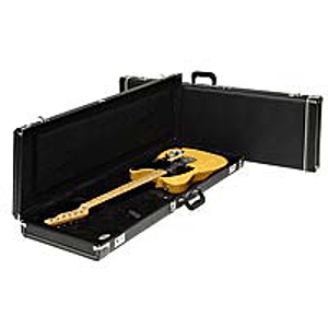 Fender® Standard Hardshell Case for Left Handed P and Jazz Basses - Black