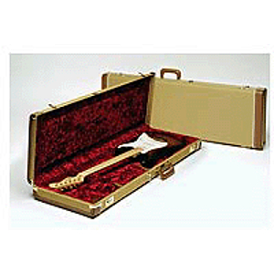 Fender® Deluxe  Hardshell Case for Jazz Basses - Tweed