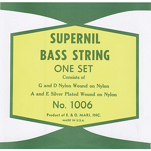 La Bella Supernil Nylon Double Bass Strings