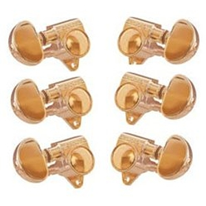 Grover 102G 3+3 Original Rotomatics Machine Heads, Gold