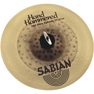 Sabian Hand Hammered HH Duo Splash Cymbal - 10-inch