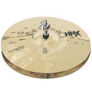 Sabian HHX Evolution Hi-hat Cymbals (pair) - Brilliant - 13-inch