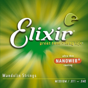 Elixir Mandolin Strings with Nanoweb Coating - Medium