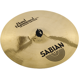 Sabian Hand Hammered HH Medium Thin Crash Cymbal - Brilliant - 16-inch