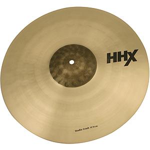 Sabian HHX Studio Crash Cymbal - 18-inch