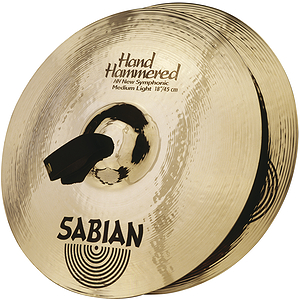 "Sabian HH New Symphonic Medium Light 18"" Cymbals, Pair"