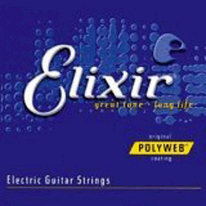Elixir Electric Guitar Strings with Original Polyweb Coating - Super Light