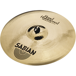 Sabian Hand Hammered HH Rock Ride Cymbal - Brilliant - 20-inch
