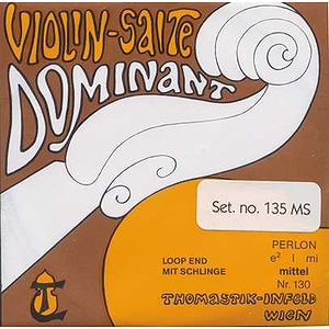 Dr.Thomastik Dominant Violin Strings - 4/4 size, 1 set