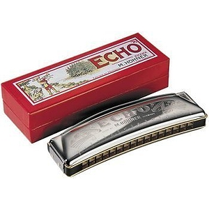 Hohner 1495/40 Echo Harmonica, Key of C