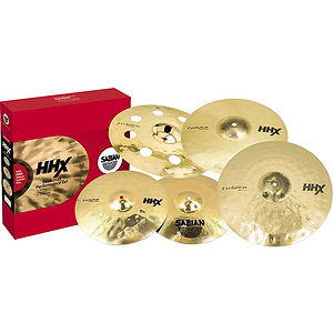 Sabian HHX Evolution Performance Cymbal Set, Brilliant w/o Bag