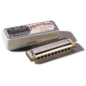 Hohner Marine Band Harmonica - Key of B flat