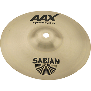 Sabian AAX Splash Cymbal - Brilliant - 6-inch