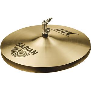 "Sabian AAX X-Celerator 13"" Hi-Hat Cymbals, Pair, Brilliant"