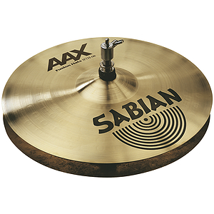 Sabian AAX Fusion Hi-hat Cymbals (pair) - Brilliant - 13-inch