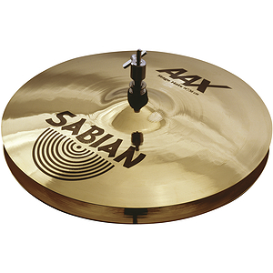 Sabian AAX Stage Hi-hat Cymbals (pair) - Brilliant - 14-inch