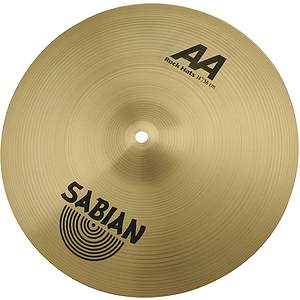 Sabian AA Rock Hi-hat Cymbals (pair) - Brilliant - 14-inch
