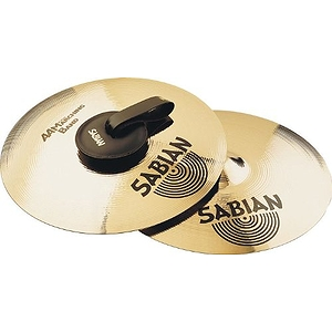 "Sabian AA Marching Band 14"" Cymbals, Pair, Brilliant"
