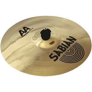 Sabian AA Thin Crash Cymbal - Brilliant - 15-inch