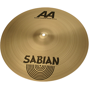 Sabian AA Sound Control Crash Cymbal, 15&quot;