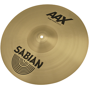 Sabian AAX Stage Crash Cymbal - Brilliant - 16-inch