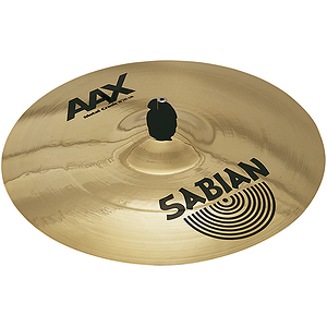 Sabian AAX Metal Crash Cymbal - Brilliant - 16-inch