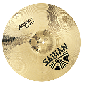 Sabian AA Bright Crash Cymbal - 16-inch