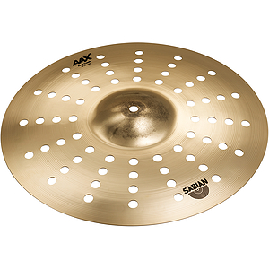 "Sabian AAX Aero Crash Cymbal 16"" - Brilliant"