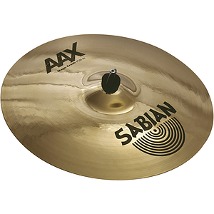 Sabian AAX Stage Crash Cymbal - Brilliant - 17-inch