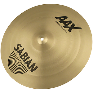 Sabian AAX Studio Crash Cymbal - Brilliant - 18-inch