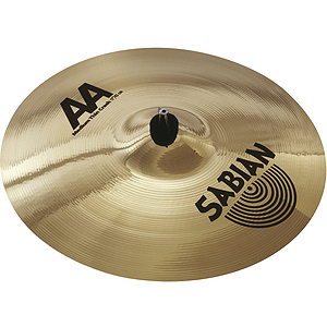 Sabian AA Medium Thin Crash Cymbal - Brilliant - 18-inch