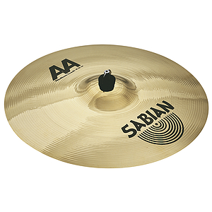 Sabian AA Medium Crash Cymbal - Brilliant - 18-inch