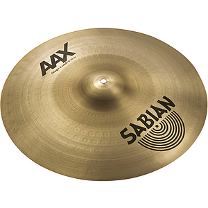 Sabian AAX Stage Crash Cymbal - Brilliant - 18-inch