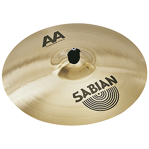 Sabian AA Crash/Ride Cymbal - Brilliant - 18-inch