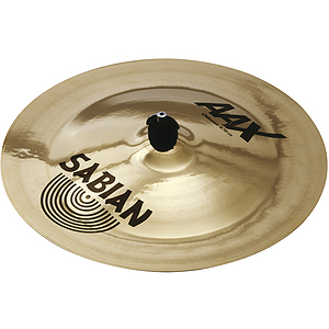 Sabian AAX China Crash Cymbal - Brilliant - 18-inch