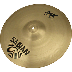 Sabian AAX New Symphonic Medium Lite Cymbal - 18-inch