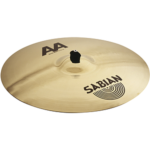 Sabian AA Rock Ride Cymbal - Brilliant - 20-inch