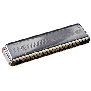Hohner 2309/32 Echo Harmonica, Key of C