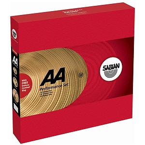 Sabian AA Drumset Cymbal Pack
