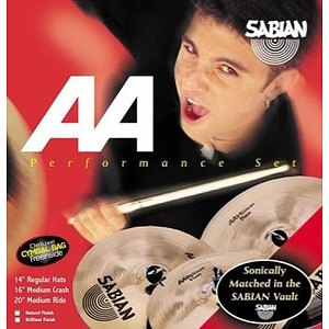 Sabian AA Effects Pack Cymbal Package, Brilliant
