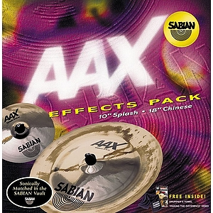 Sabian AAX Effects Cymbal Pack - Brilliant